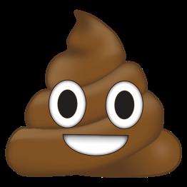 emoji caca